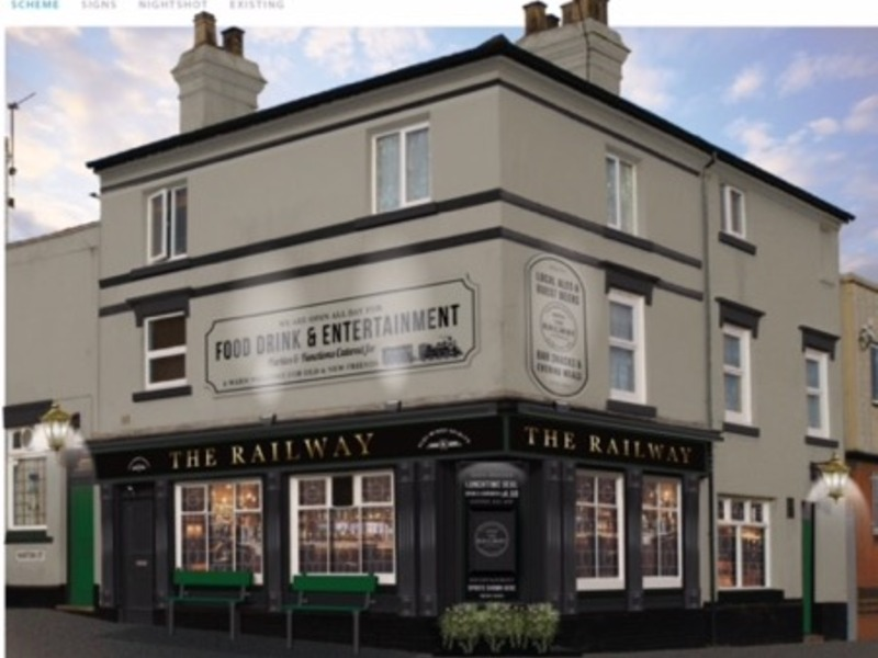 Railway 292 Park Road Hockley Birmingham B18 5he Available For
